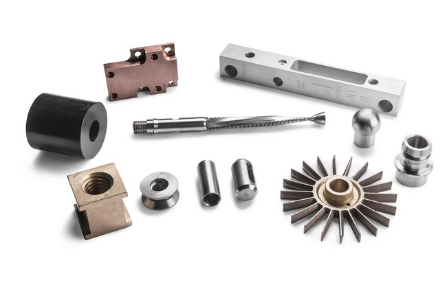Mecanizado de diversos tipos de aluminio