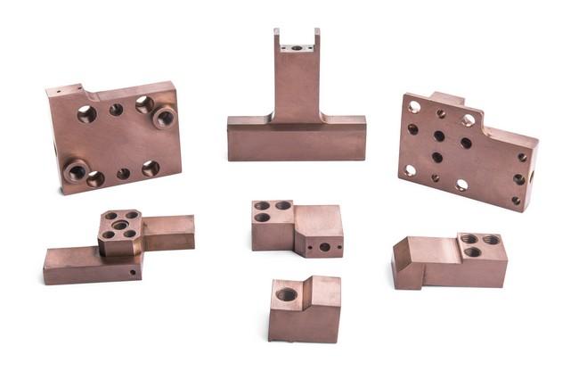 Mecanizado de diversos tipo de aleaciones de cobre